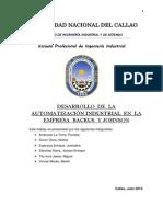 Desarrollo de La Automatización Industrial en La Empresa Backus y Johnston (1)