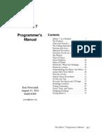 Inform 7, Programmer's Manual