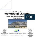 Weymouth Landing Title November 18