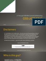 OSS Licensing