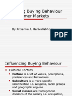 analyzing buying behaviour of consumer markets