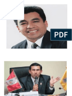 Fotos Del Alcalde de Huacho y Presidente Regional