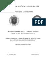 Vitruvio Antitesis Del Arquitecto Estrella