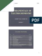 Fund of Electrochemistry