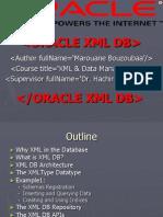 XML_OracleXMLDB