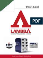 Lambda Manual