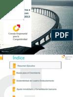 Presentacion Crecimiento Sostenibilidad Economia Espanola