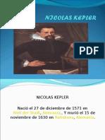 nicolas kepler