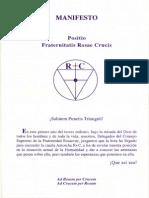 Rosicrucian Amorc Manifiesto Positio