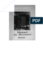 Denevi, Marco - Manuel de Historia