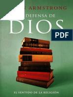 ARMSTRONG, Karen. en Defensa de Dios