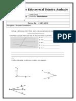 Prova D.geometrico 7ano