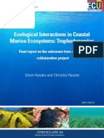 Ecological Interactions in Coastal Marine Ecosystems