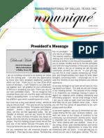 Altrusa International of Dallas, TX, Inc. June Newsletter