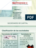 Sociedas de Capital