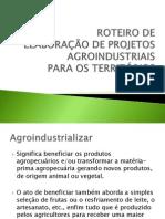 Roteiro de Elaboracao de Projetos Agroindustriais1