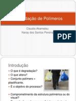 Degradação de Polímeros