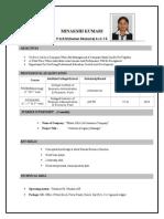 mk resume