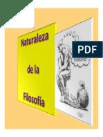 Microsoft PowerPoint - Naturaleza de a Filosf