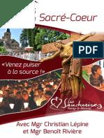 Flyer Fetes Sacre Coeur 2014
