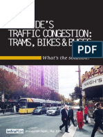 infraPlan report on Adelaide Traffic Congestion