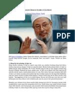 9 Kesesatan Syi'ah Menurut Yusuf Qordhowi