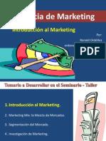 Gerencia de Marketing Conceptos