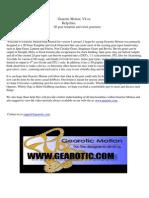 Gearotic Motion V4.Xx Manual