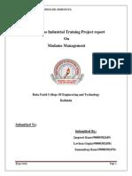 143160095 Java Project Report