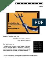Boletín N°1 De Estudiantes De Psicología (Mayo/2014)