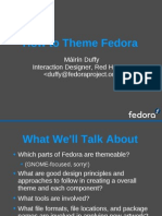 How to Theme Fedora 356