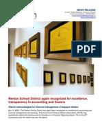 RSD Financial Report Award-11!06!09
