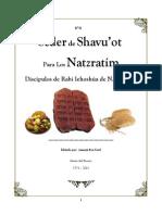 Seder Para Shavuot