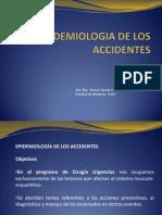 Epidemiologia de Los Accidentes