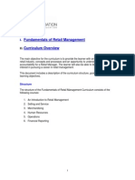 Fundamentals of Retail Management
