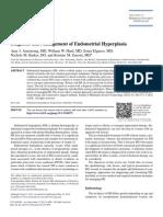 Journal of Minimally Invasive Gynecology Volume 19 Issue 5 2012 [Doi 10.1016%2Fj.jmig.2012.05.009] Armstrong, Amy J.; Hurd, William W.; Elguero, Sonia; Barker, Nic -- Diagnosis and Management of Endometrial Hyperplasi