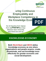 Ensuring Continuous Employability and Workplace Competency in the Knowledge Economy