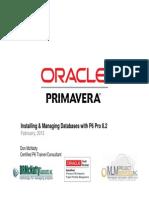 Databases With Primavera P6