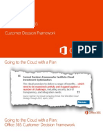 Microsoft Office 365 Customer Decision Framework