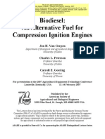 Biodiesel: An Alternative Fuel for Compression Ignition Engines