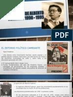 1er Gobierno de Alberto Fujimori 1990 - 1995