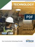 SITECH Heavy and Highway Portfolio Brochure - English - Lores