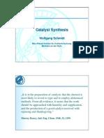 Schmidt Catalyst Preparation 021107