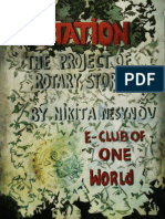 """""""Rotation"""" (Project of Rotary e-club of One World)"""