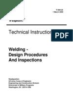 Welding - Design Procedures and Inspections