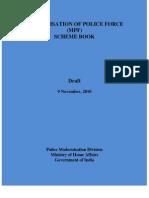 Modernisation of police force