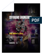 Introduction to Cryogenic Engineering
