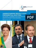 Understanding Brazil's 2014 Presidential Election - The Parties, Candidates and Issues That Will Determine Brazil's Future Direction