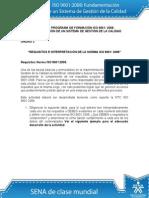 Actividad de Aprendizaje unidad 3 Requisitos e Interpretación de la Norma ISO 90012008_v2.doc