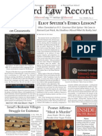 Harvard Law Record, V. 129 No. 6, Nov. 19, 2009